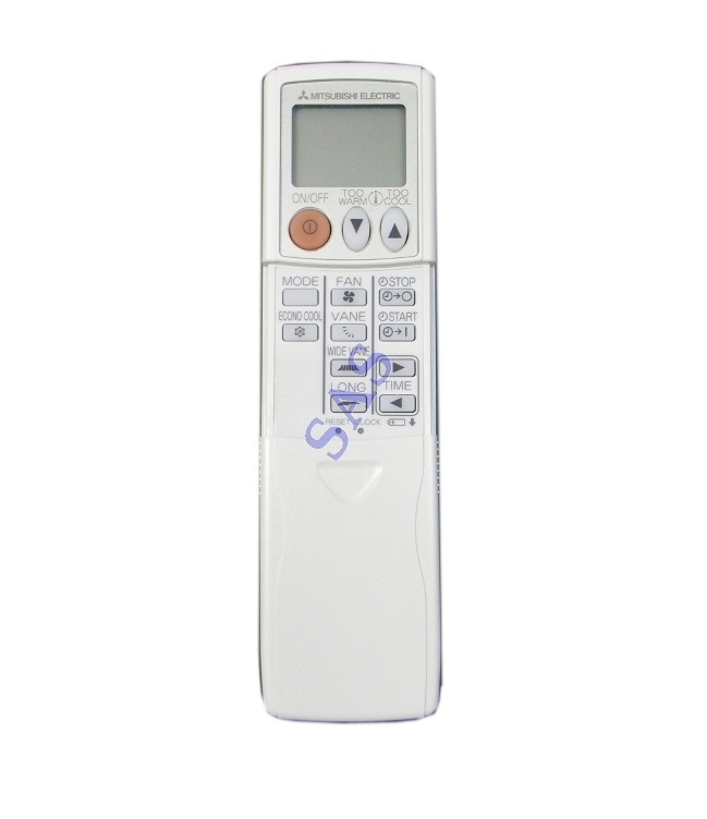 mitsubishi instructions electric conditioner slim mr page remote owners manual controller air par installation
