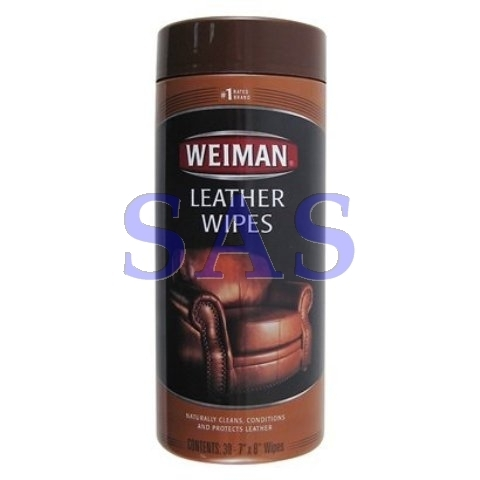 "WEIMAN LEATHER WIPES x 30 (7"" x 8"") - WEI0000008"