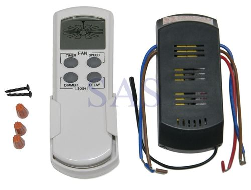 CEILING FAN REMOTE CONTROL RF UNIVERSAL DISPLAY  - GEN0005001